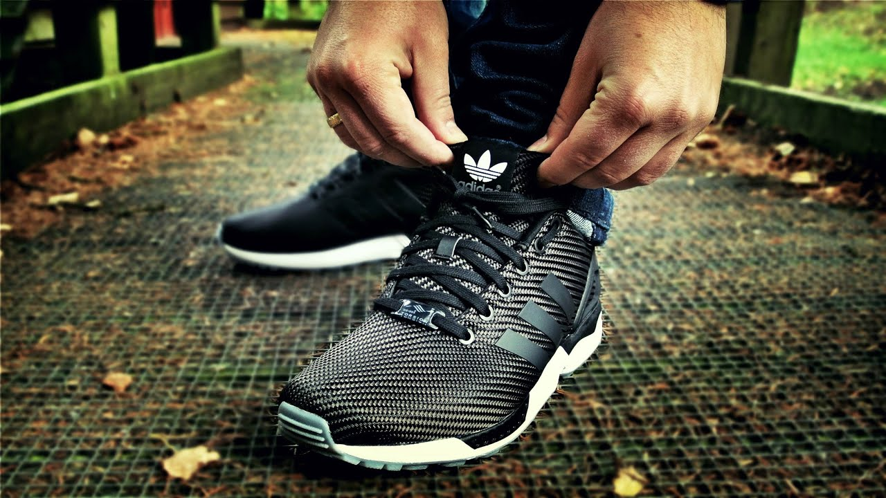 Sneaker Review: #adidas Originals ZX Flux Primeknit 'Solid Grey