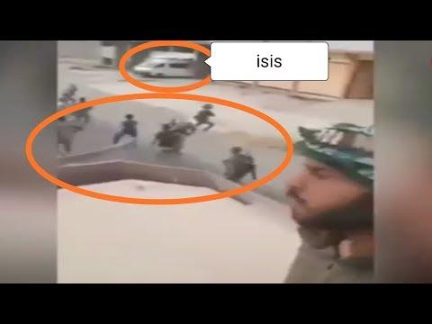 VIRAL!!! VIDEO DETIK DETIK BOM BUNUH DIRI ISIS DI TENGAH KERUMUNAN TENTARA IRAK