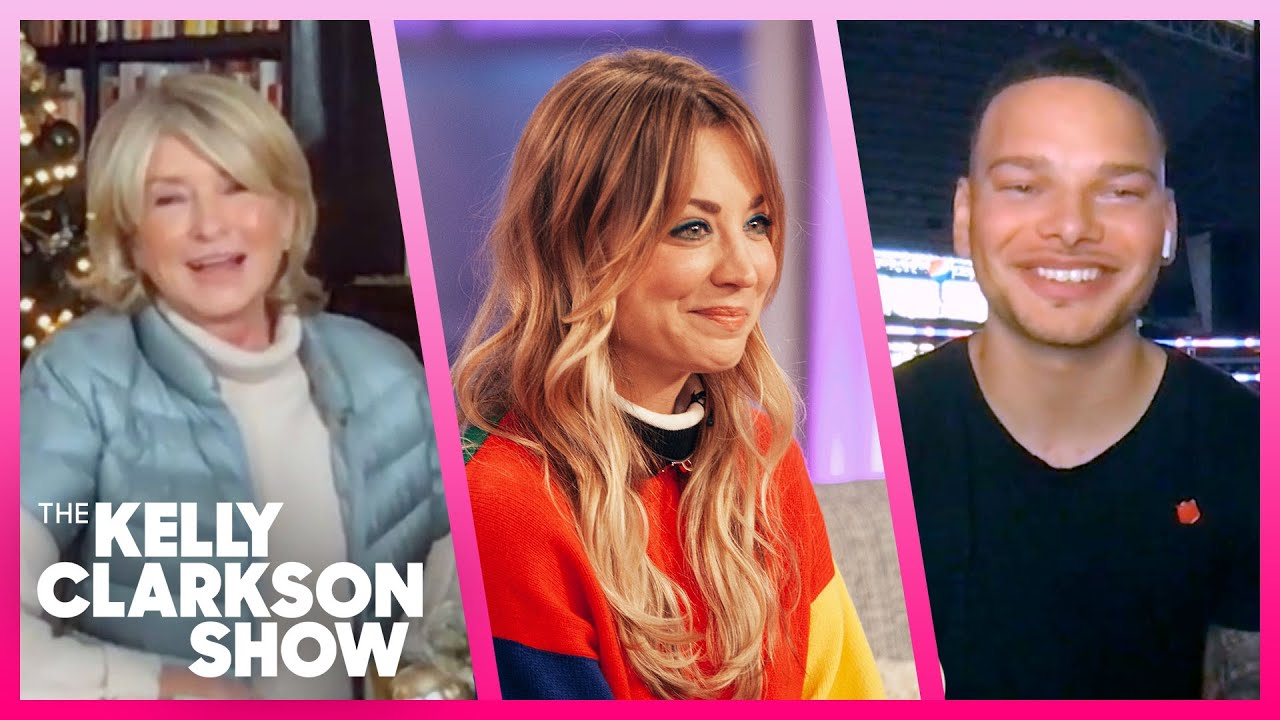 Kaley Cuoco, Martha Stewart & Kane Brown | Most Talked About Moments