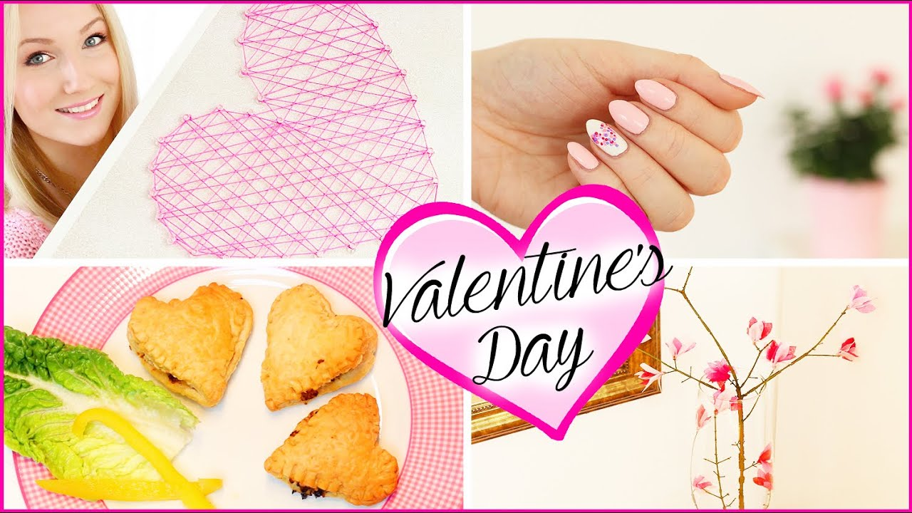 Diy valentinstag dekoration snacks nageldesign youtube - Dekoration valentinstag ...