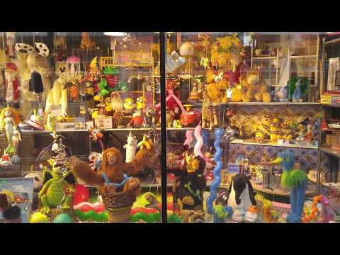 The coolest toy store window in Amsterdam