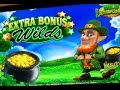 WILD LEPRE'COINS SLOT MACHINE BONUS-WITH JONNY!