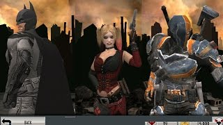 Injustice GAU: (766) MP with the Arkham team (AO Batman, AO Deathstroke, and Arkham HQ)