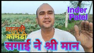 malvi comedy | सगाई में श्रीमान | inder Patel ke video