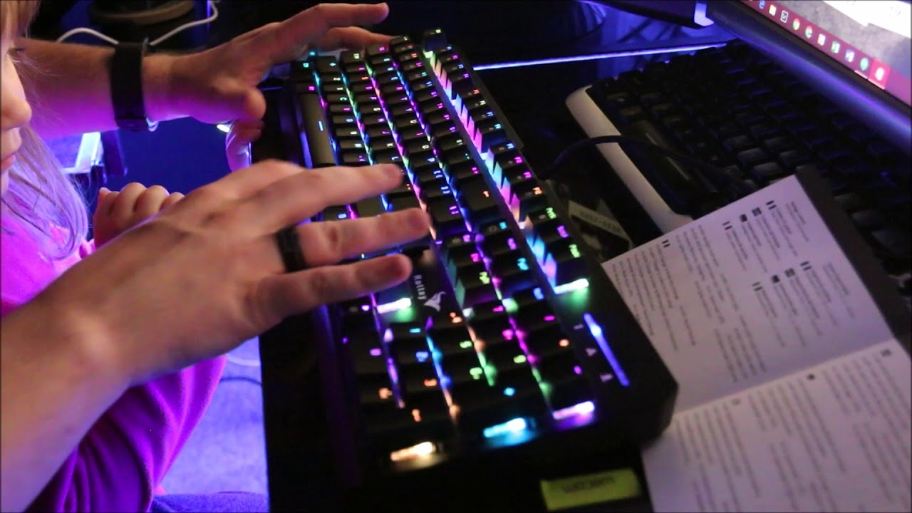 431c698650e Rottay RGB Gaming Keyboard Review - YouTube