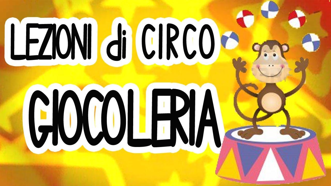Famoso Giocoleria - Lezioni di circo - YouTube RC94
