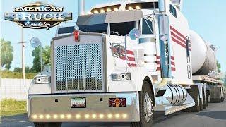 American Truck Simulator - Kenworth W900 Long Mod