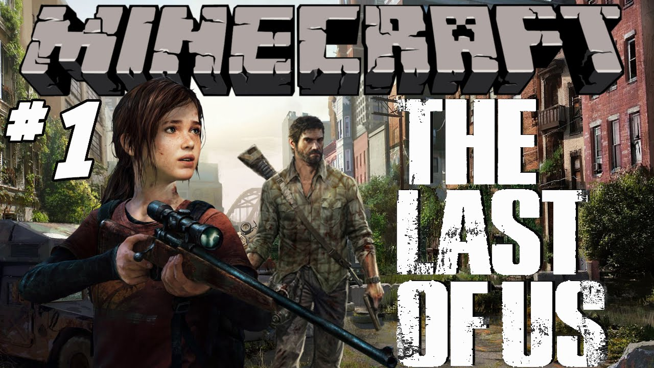 THE LAST OF US MINECRAFT Adventure Map Ep Ellie And Joel - The last of us minecraft adventure map download