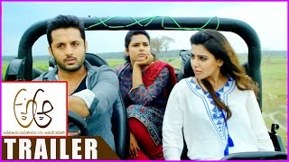 A Aa Movie Trailer - Back 2 Back || Nithin | Samantha | Anupama Parameswaran