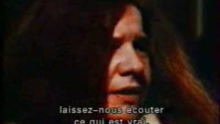 Janis Joplin about blues