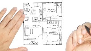 Floor Plans For Small Houses With 2 Bedrooms