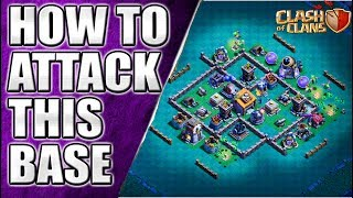 How to Attack on BH6 MOST POPULAR BASE || ON TOP PLAYER BASE || Clash of Clans