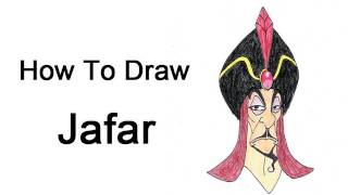 How to Draw Jafar (Aladdin)