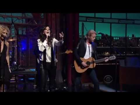 Little Big Town - Tornado - Letterman 2-12-2013
