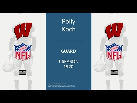 Polly Koch: Football Guard and Tackle