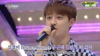 Vietsub 130707 ChenChanSoo @ SBS 1000 Songs Challenge