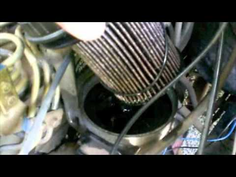 how to replace fuel filter on cummins 59 - YouTube