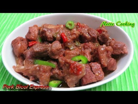 Pork and Ribs Bicol Express
