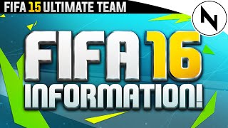 FIFA 16! - GAMEPLAY, FEATURES & ULTIMATE TEAM!