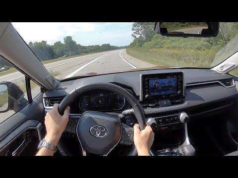 2019 Toyota RAV4 Hybrid Limited AWD - POV Test Drive (Binaural Audio)
