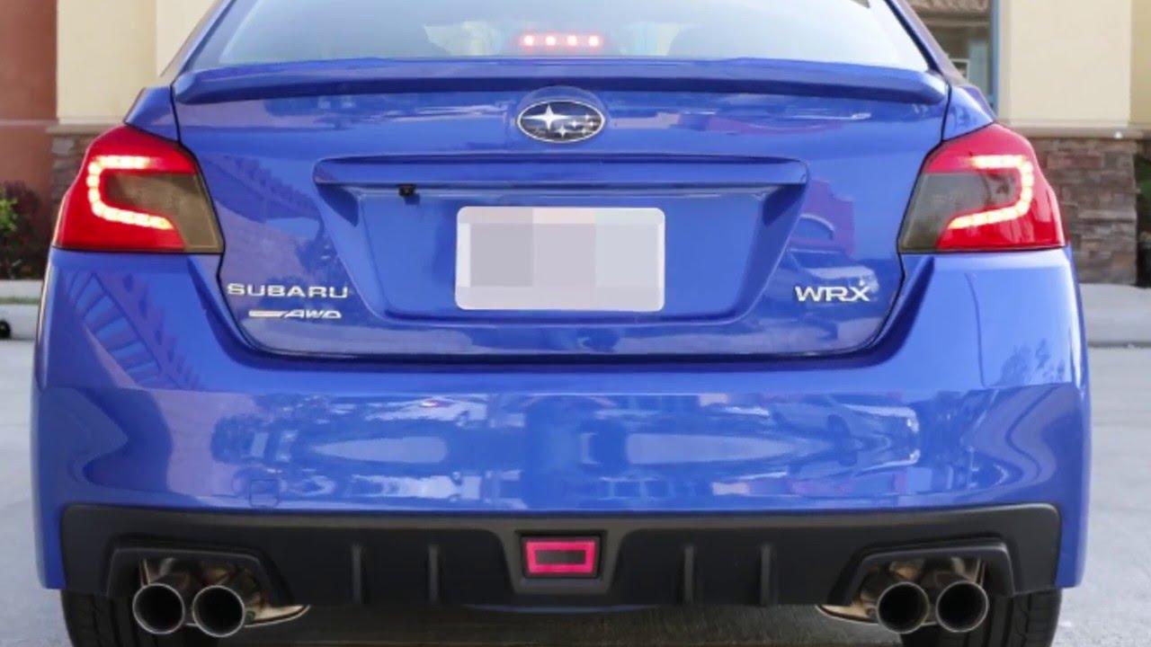 Ijdmtoy Subaru Led Rear Fog Light With Strobe Module Flasher Demo