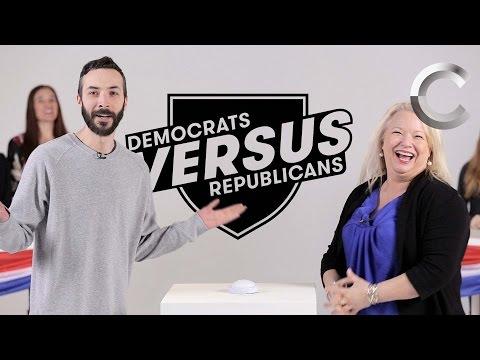Versus: Republicans / Democrats Take the US Citizenship Test - Episode 2 | Cut