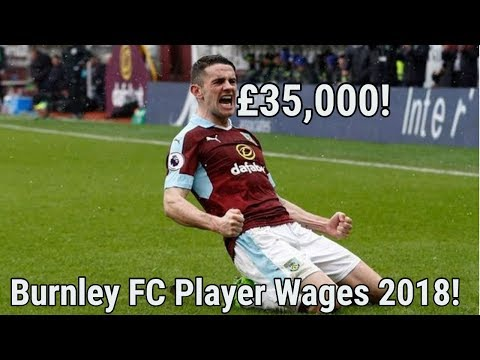 Burnley FC Player Salaries 2018!