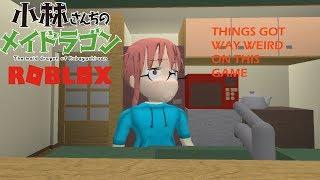 Roblox Kobayashi-San Chi No Maid Dragon - Sie erwarteten ein normales cooles Modellspiel, aber...