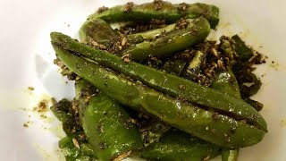 Hari Mirch fry | Fried Green Chillies| Cook with SB