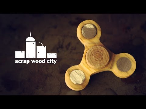 Making an experimental wooden fidget spinner