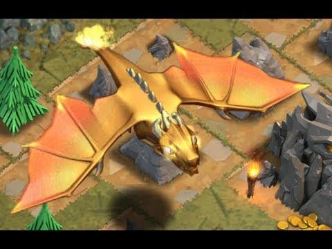 Clash Of Clans: Dragon's Lair (3 Stars)