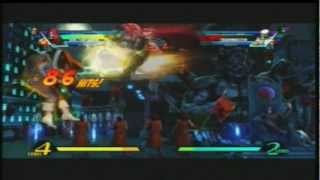 UMVC3 Dr Doom Insane TAC infinite midscreen All Direcctions