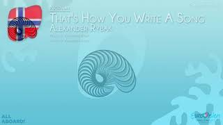 """Download Alexander Rybak - """"That's How You Write A Song"""" (Norway) [Karaoke version] Mp3 and Videos"""