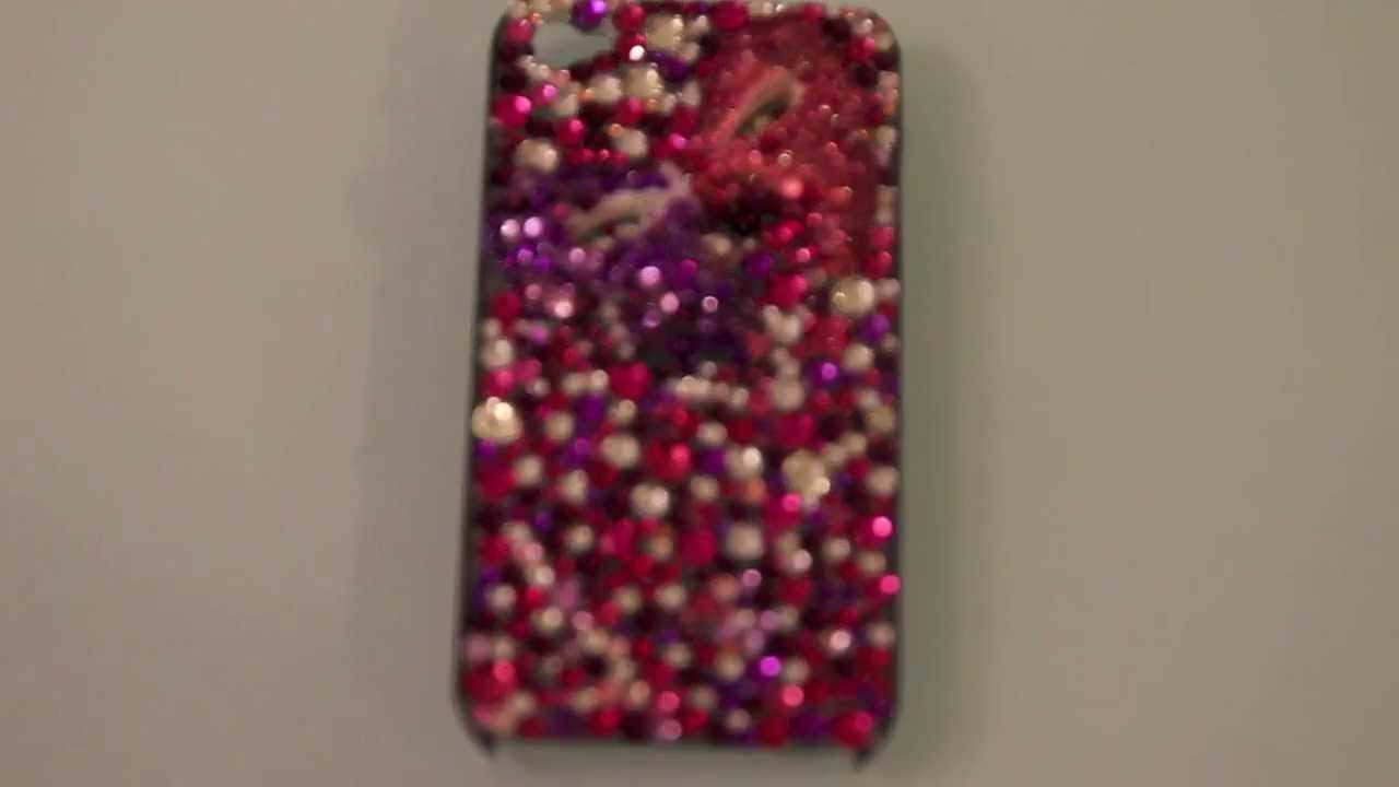 lowest price 0d783 0747d DIY Rhinestone Phone Case
