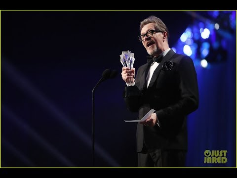Gary Oldman Wins Best Actor for 'Darkest Hour' at Critics' Choice Awards 2018!