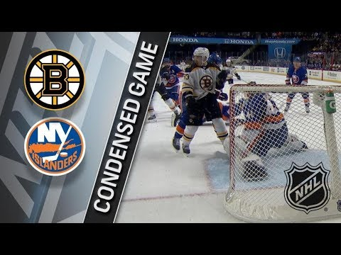 Boston Bruins vs New York Islanders – Jan. 18, 2018 | Game Highlights | NHL 2017/18. Обзор матча