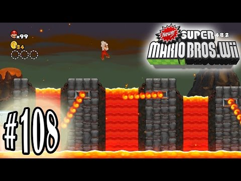 [60 FPS] Let's Play Newer Super Mario Bros. Wii: Part 108 (Dolphin - Hack) [1080p HD] - Nintendo Wii - 동영상