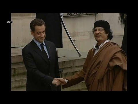 Sarkozy bajo arresto por supuesta financiación de Gadafi