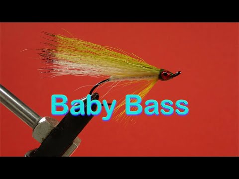 Beginner's Fly Tying Series: Easy Streamer Series - The Baby Bass