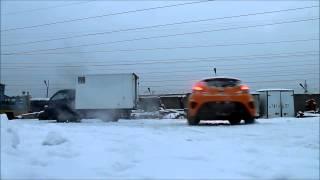 Hyundai Veloster Turbo Yellow 2013 Москва Тест драйв смотреть
