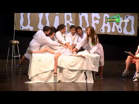 El alumnado de 6º B del colegio Ángel Campano despidió el curso representando una comedia musical