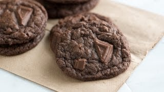 How To Make Chewy Double Chocolate Cookies - Chocolate Cookie Recipe