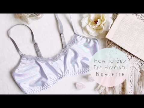 How to Sew the Hyacinth Bralette