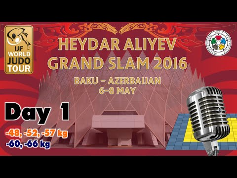 Judo Grand-Slam Baku 2016: Day 1