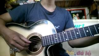 Qua cầu gió bay - guitar