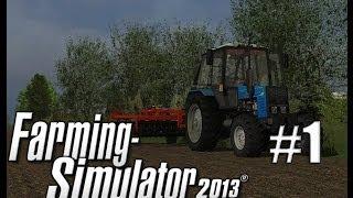 Farming Simulator 2013 (mods) ч1 - Колхоз(Новая карта, новая техника но ведь русская! Мы начинаем свои дела на ферме Бухалово. И сразу как мы приезжаем..., 2014-06-23T13:10:35.000Z)