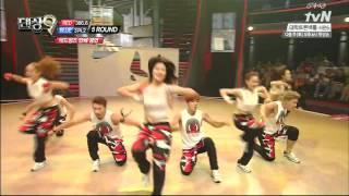 생방1차전 단체안무 'Turn down for what' 레드윙즈_댄싱9 Dancing9 시즌2 Season2