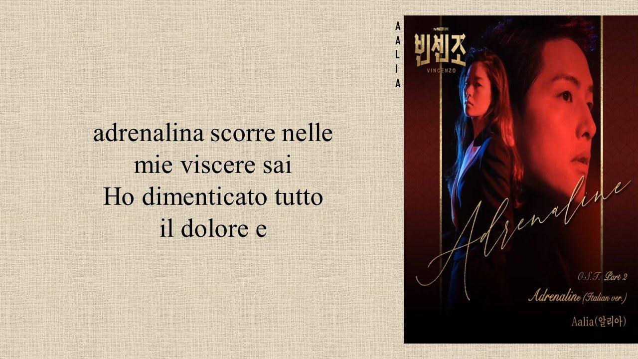 Download Aalia(알리아) - Adrenaline (Italian ver.) Vincenzo OST Part 2 (Easy Lyrics)