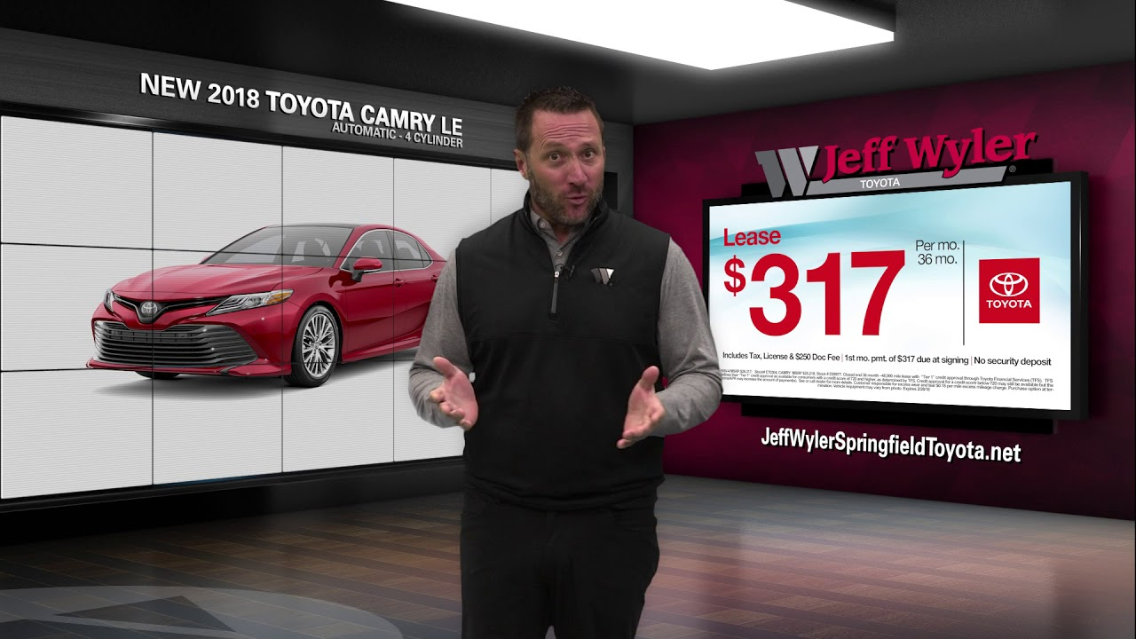 Jeff Wyler Toyota Springfield >> Jeff Wyler Springfield Toyota - February 2018 Rav-4 and Camry Specials! - YouTube