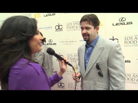 Rory Herrmann Interview at the LA Food & Wine Launch Event